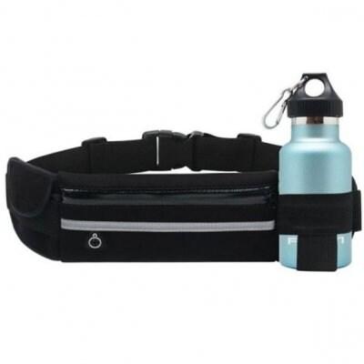 【超!超高ポイント還元】 ランニングポーチ ボトルポーチ ウエストポーチ 防水 軽量 反射材 機能性 スポーツ ウォーキング ジョギング スマホ ツーリング バッグ