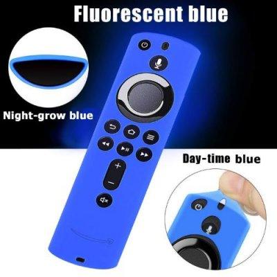 『超高ポイント還元』 リモコンカバー FireTVStick対応 光るタイプ シリコン製 耐衝撃 落下防止