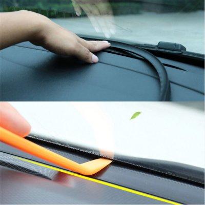 車用ビビリ音低減 防止モール ダッシュボード用テープ 取付工具付き 静音 内装 パーツ