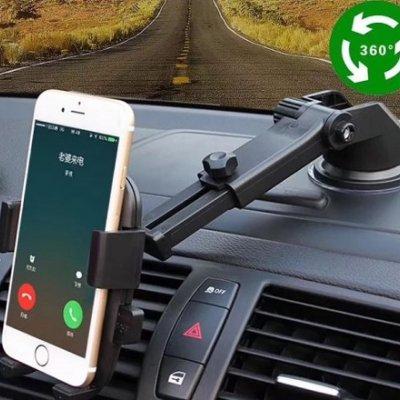 【高ポイント還元セール】 スマホホルダー 車載ホルダー カーホルダー スタンド 携帯 車 スマートフォン スマホスタンド ワンタッチ方式 吸盤