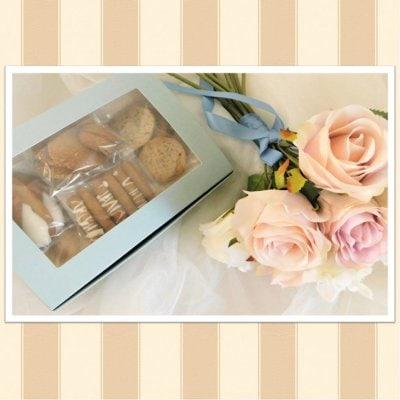 甘酒クッキー・ギフトボックス(水色)