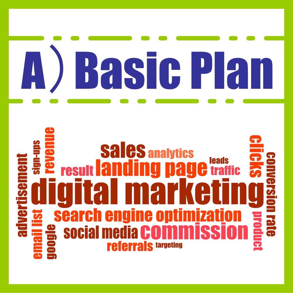 【ページ作成のお手伝い】A)ベーシックプラン-Basic Plan-のイメージその1