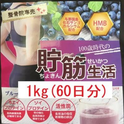 高機能プロテイン1kg(60日分)ブルーベリー味
