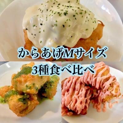 【店頭よりお得】からあげMサイズ(150g約6〜7個程度)3種食べ比べチケット