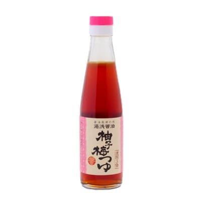 柚子梅つゆ  めんつゆ 3倍濃縮 200ml 和歌山県有田郡湯浅町 湯浅醤油