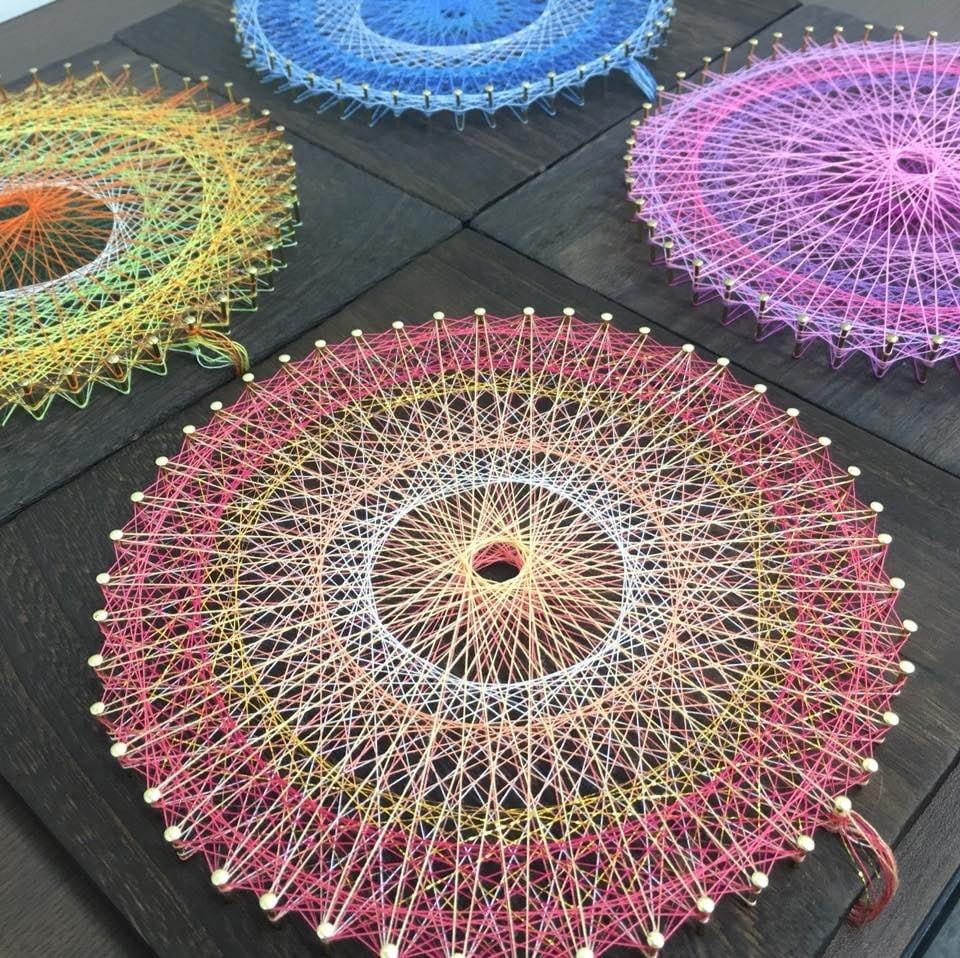【東京・田町】糸かけ曼荼羅アート(素数アート)のイメージその3