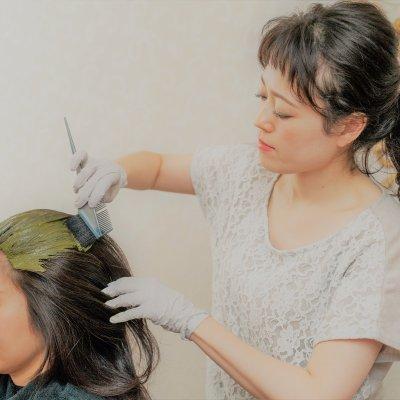 【ヘナ】ツヤ髪&ふわ髪&デトックス💜肩甲骨までのロング(Ⅱ)