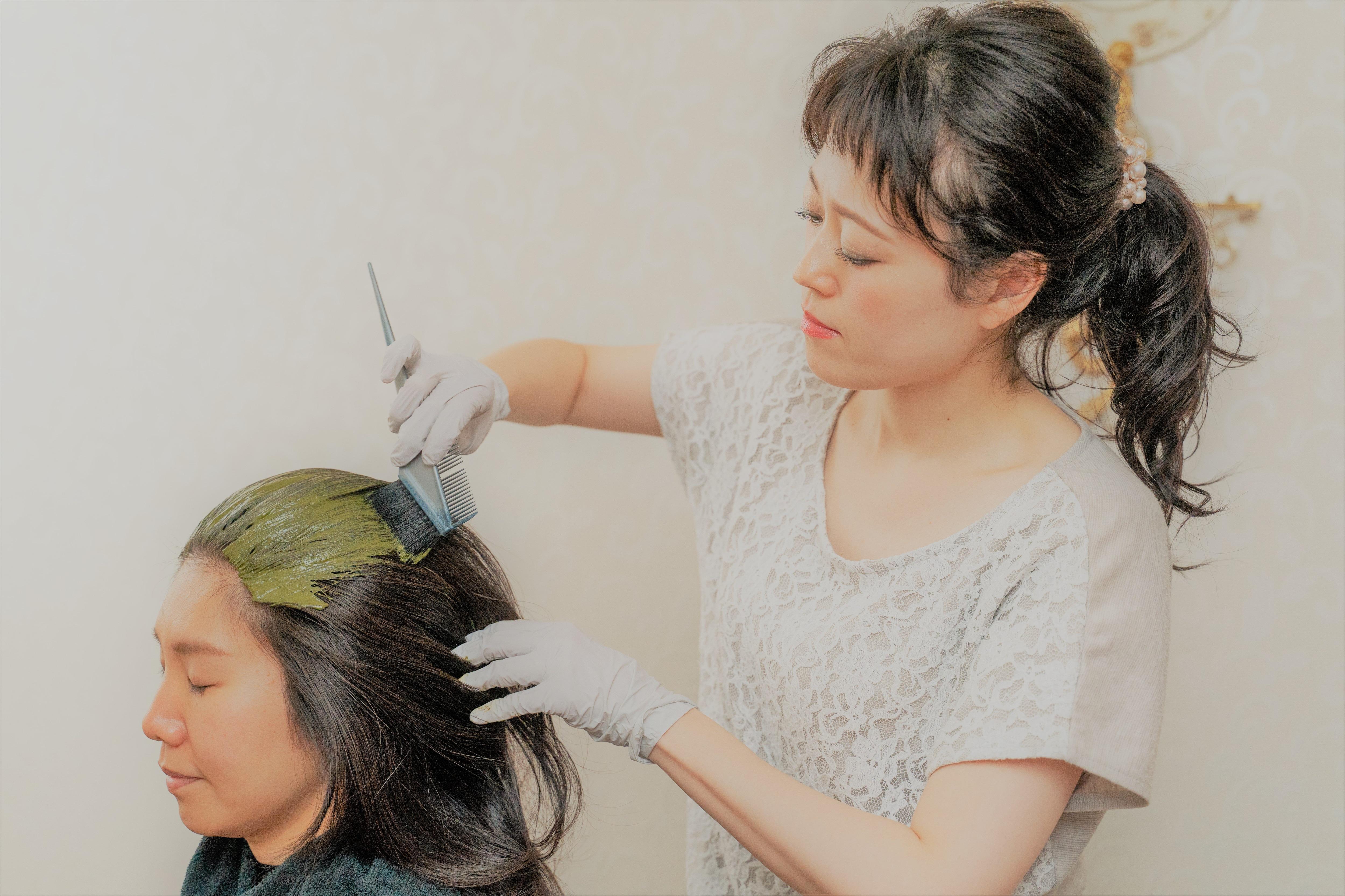 髪質改善&デトックス【ヘナトリートメント】〜セミロング(Ⅱ)〜のイメージその1