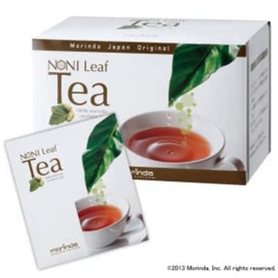 """""""タヒチの子ども達応援プロジェクト"""" 世界で最も厳しいとされるEUの食品安全基準に合格したノニ葉を100%使用したノニリーフティーは、カフェインフリーで、お子さまからご年配の方まで毎日おいしくお召し上がりいただける健康茶です。モリンダ社 正規取次代理店"""