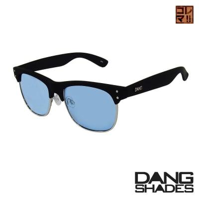 【今月限り送料無料!!】超人気!!DANG SHADESサングラス!「EASTHAM」 Black Soft x Blue vidg00283