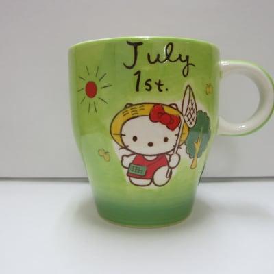 【在庫限り!!!】ハローキティ バースデーマグ 7月1日 かに座