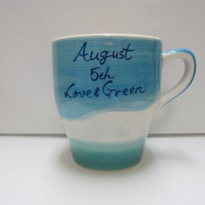 【在庫限り!!!】 LOVE & GREEN バースデーマグ 8月5日 しし座