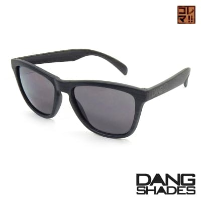 超人気!!DANG SHADESサングラス!「ORIGINAL」 Monochrome Wood Matte x Black Smoke GO SKATEBOARDING vidg00366