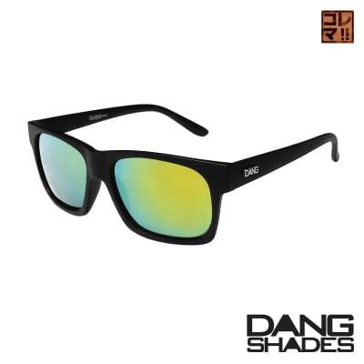 超人気!!DANG SHADESサングラス!「 GRASSER」 Black Matte x Gold Mirror [DANG Metal Logo]vidg00232-1