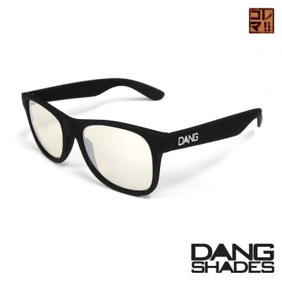 超人気!!DANG SHADESサングラス!「LOCO」 Black Soft x Clear Mirror vidg00142