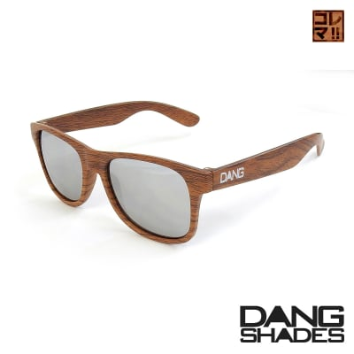 超人気!!DANG SHADESサングラス!「LOCO」 Wood Matte X Chrome Mirror vidg00337