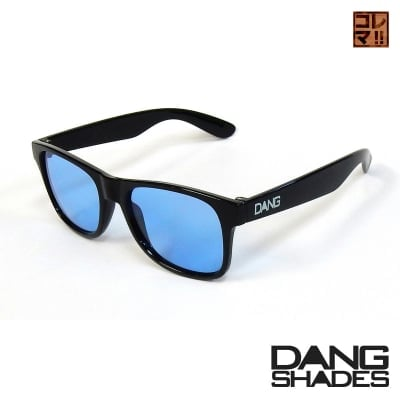 超人気!!DANG SHADESサングラス!「LOCO」 Black Gloss x Blue lens vidg00272-1