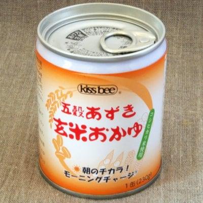 キッスビー健全食 五穀あずき玄米おかゆ 20缶セット 国産、無添加、安全・安心 キッスビー