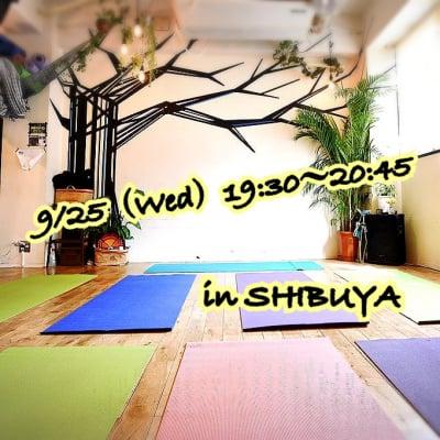 渋谷・代官山9/25(水)動く瞑想アロマピラティスお土産付き