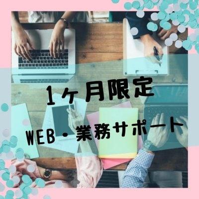 【1か月限定】WEBオールプラン+業務サポート