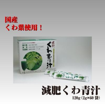 国産素材使用 減肥くわ青汁 120g(2g×60袋)