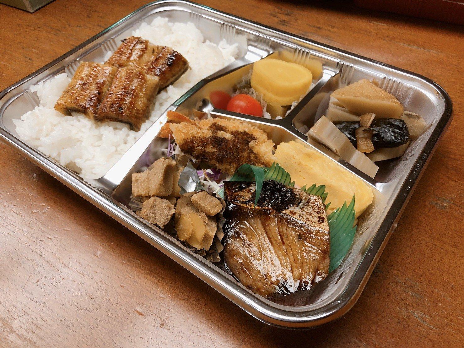 【テイクアウト・出前用】お弁当(うなぎ入り)・味噌汁付のイメージその2