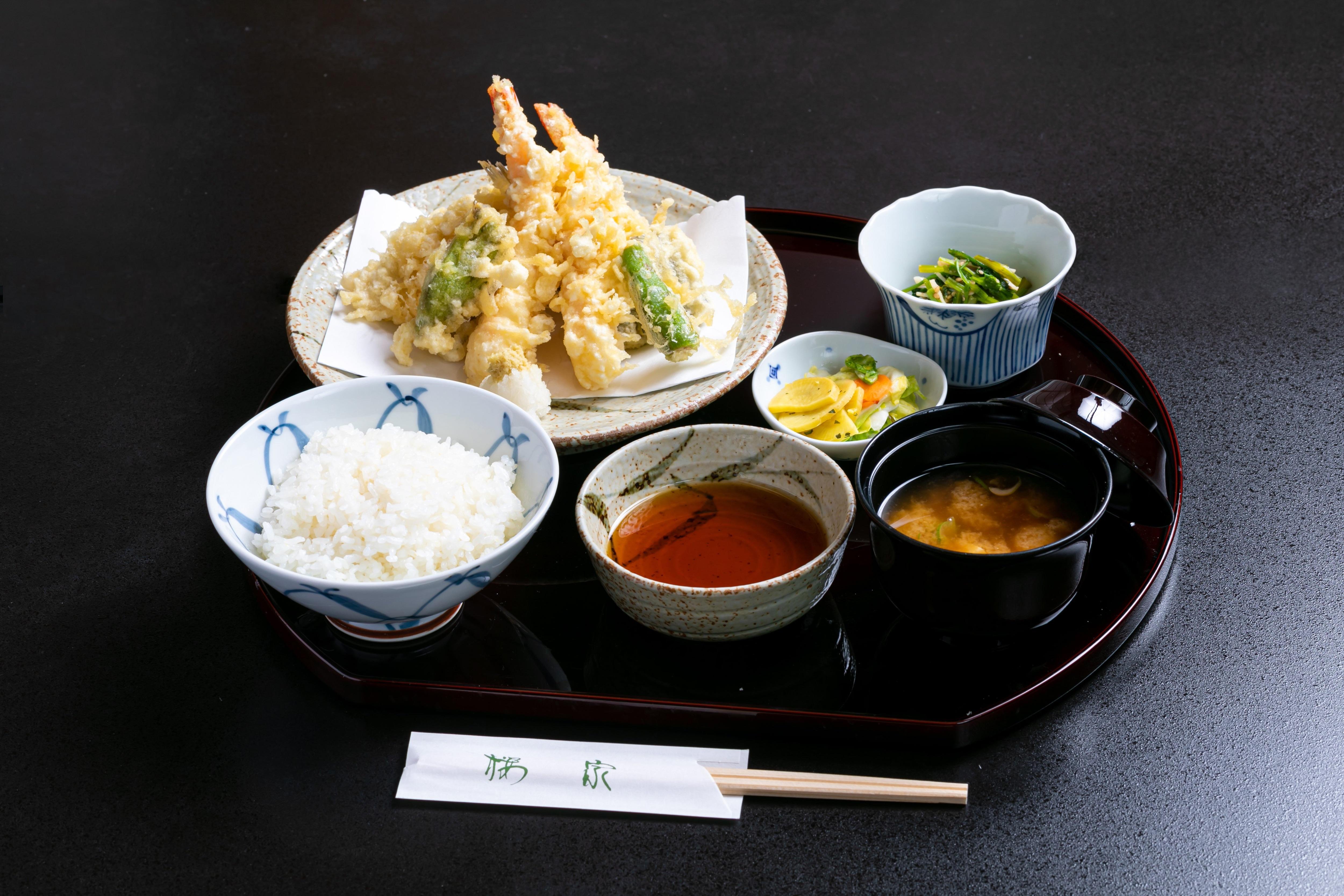 【店内・現地支払い専用】天ぷら定食のイメージその1