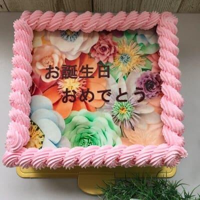 写真ケーキ5号