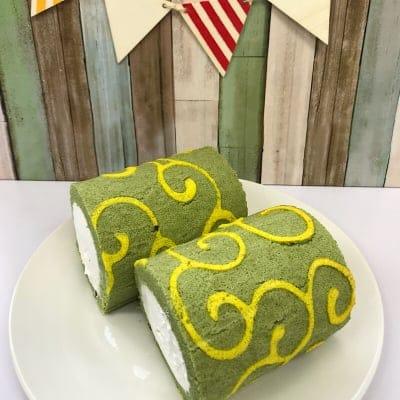 ロールケーキ(抹茶)