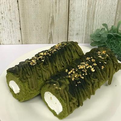 プレミアムロールケーキ【宇治抹茶モンブラン】