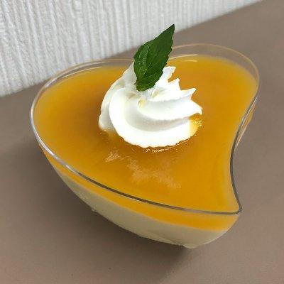 新潟県弥彦村産パッションフルーツとマンゴーのムース