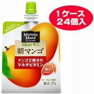 【送料無料】ミニッツメイド 朝マンゴ 180g×24本入