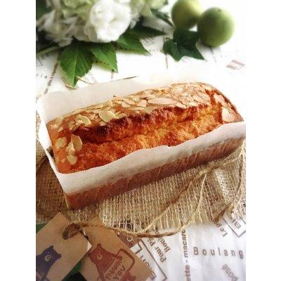 【グルテンフリー・乳製品不使用】しっとりふわ!米粉のパウンドケーキ(約8cm×6cm×14cm:2cm厚みで約7カット分)プレーン/抹茶/ココア/くるみ味噌