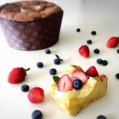 【グルテンフリー・乳製品不使用】米粉のしっとりふわふわ!シフォンケーキ(約13cm2〜3人分)バニラ/抹茶/ココア ベーキングパウダー不使用