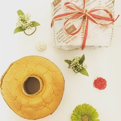 【グルテンフリー・乳製品ベーキングパウダー不使用】しっとりふわふわ!ままがし米粉シフォンケーキ(約13cm2〜3人分)プレーン/抹茶/ココア