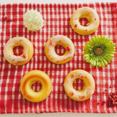 【グルテンフリー・乳製品不使用】ままがし焼きドーナツ1個から単品販売(オーガニックバニラ/チョコ/かぼちゃ)