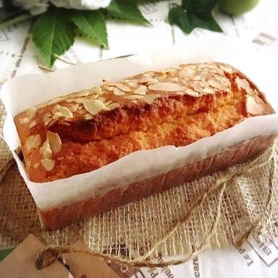 送料無料(一部地域をのぞく)【グルテンフリー】米粉のパウンドケーキ (プレーンな味わい)(約8cm×6cm×14cm:2cm厚みで約8カット分)小麦粉不使用・乳製品不使用
