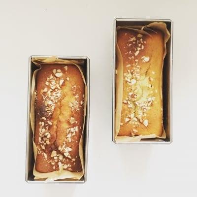 送料無料【グルテンフリー・乳製品不使用】しっとりふわ!ままがし米粉のパウンドケーキ(有機バナナ/コーヒー/抹茶/ココア/くるみ味噌)(約8cm×6cm×14cm:2cm厚みで約8カット分)