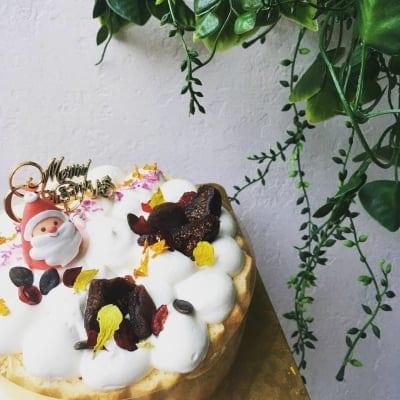 Y様専用【グルテンフリー】ままがしオーダークリスマスケーキ 現地お渡し済み