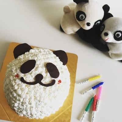【グルテンフリー】クリームで作るアニマルケーキ4〜6名さまサイズ (受け渡し)