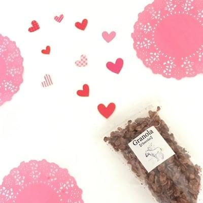 ままがしお手製 チョコレートグラノーラ (55g入り)