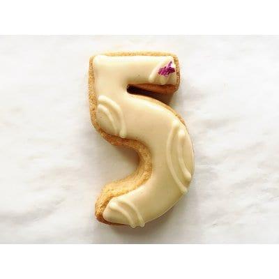 【グルテンフリー・卵不使用】アイシングクッキー ナンバー5(1枚入り)