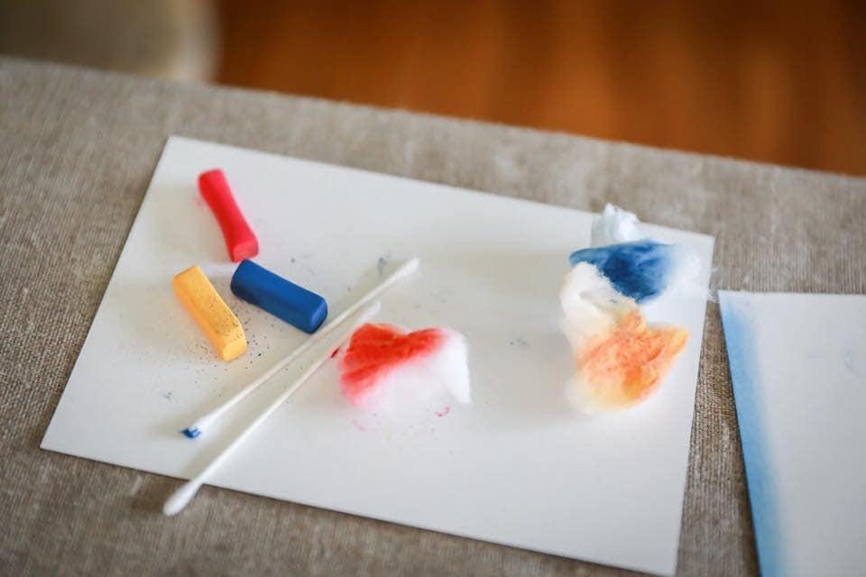 5月20日用 3色パステルアート体験会とお話会のイメージその1