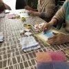 コラボ企画 3色パステルアートとピアノ