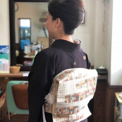 【着付け】訪問着・付け下げ・色無地 現金決済