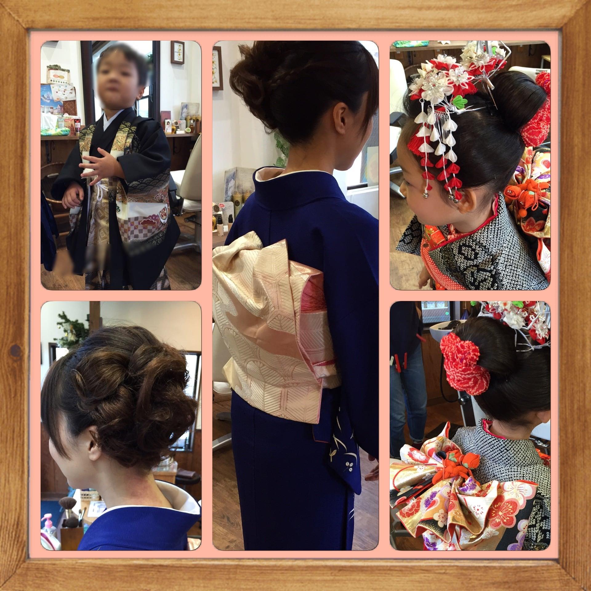 【七五三】 七歳お仕度セット 伝統的な日本髪で神社で目立つ事NO1のイメージその3