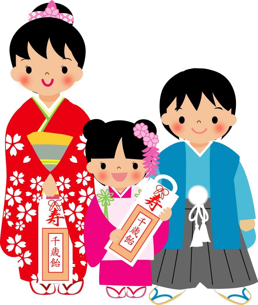 【七五三】五歳 袴着付けのイメージその1