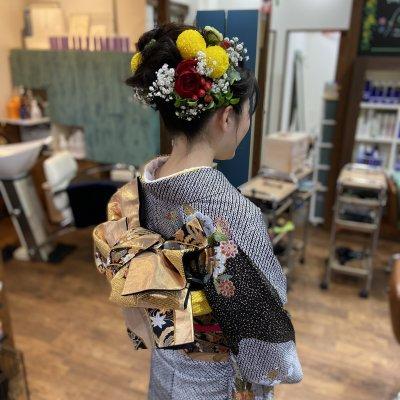 【宮下様専用】成人式写真撮り親子セット