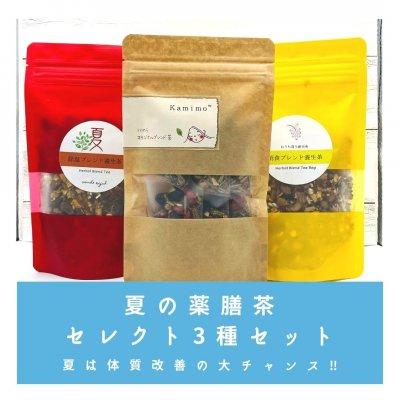 3種×1袋×6P 夏期限定薬膳茶 送料無料