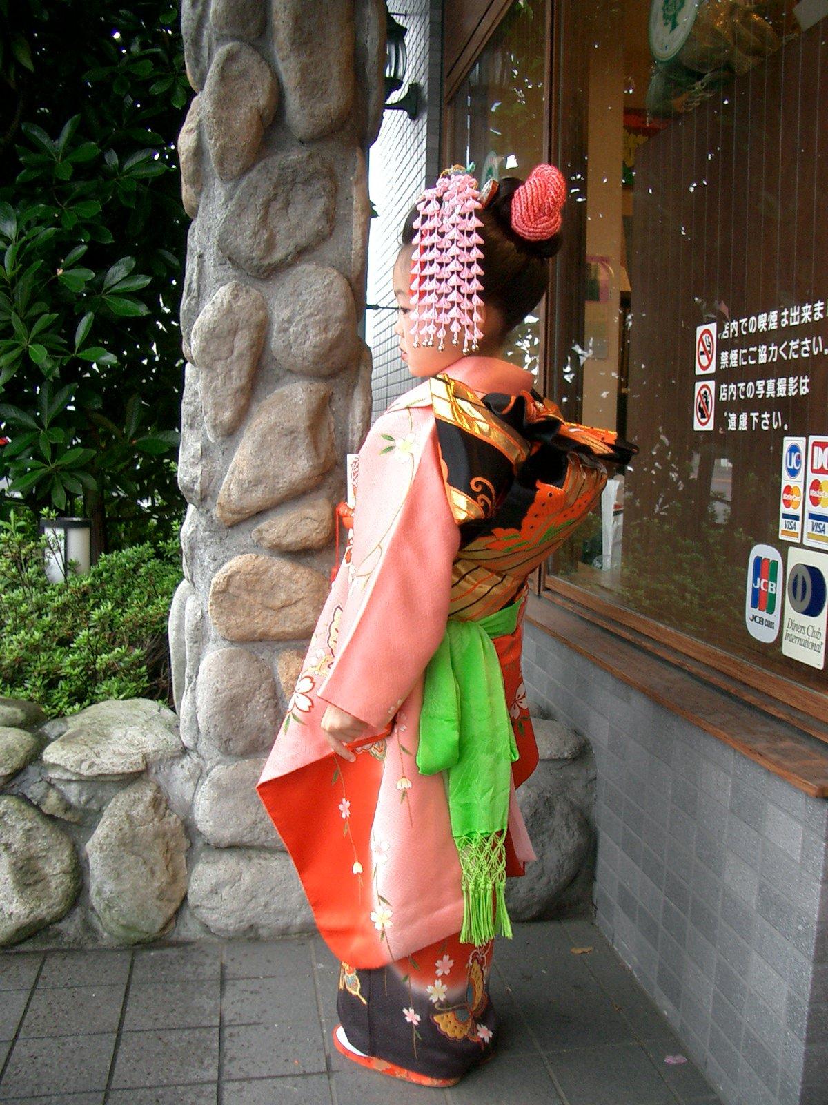 【七五三】 七歳お仕度セット 伝統的な日本髪で神社で目立つ事NO1のイメージその1